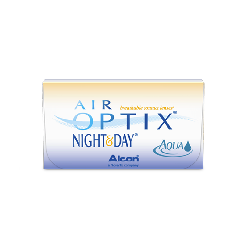 AIR OPTIX® NIGHT & DAY AQUA – 3