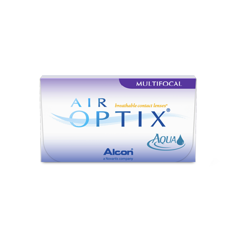 AIR OPTIX® AQUA MULTIFOCAL – 6