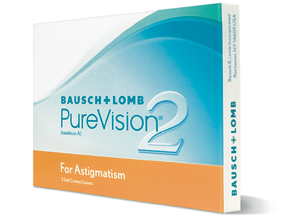 Purevision 2 HD for Astigmatism – 3