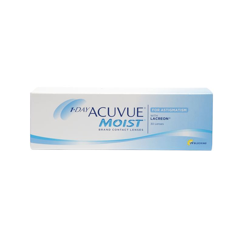 1-DAY ACUVUE MOIST FOR ASTIGMATISM with LACREON – 30