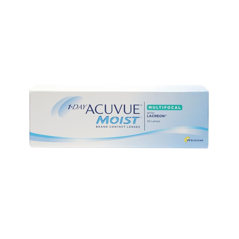 1-DAY ACUVUE MOIST MULTIFOCAL WITH LACREON – 30