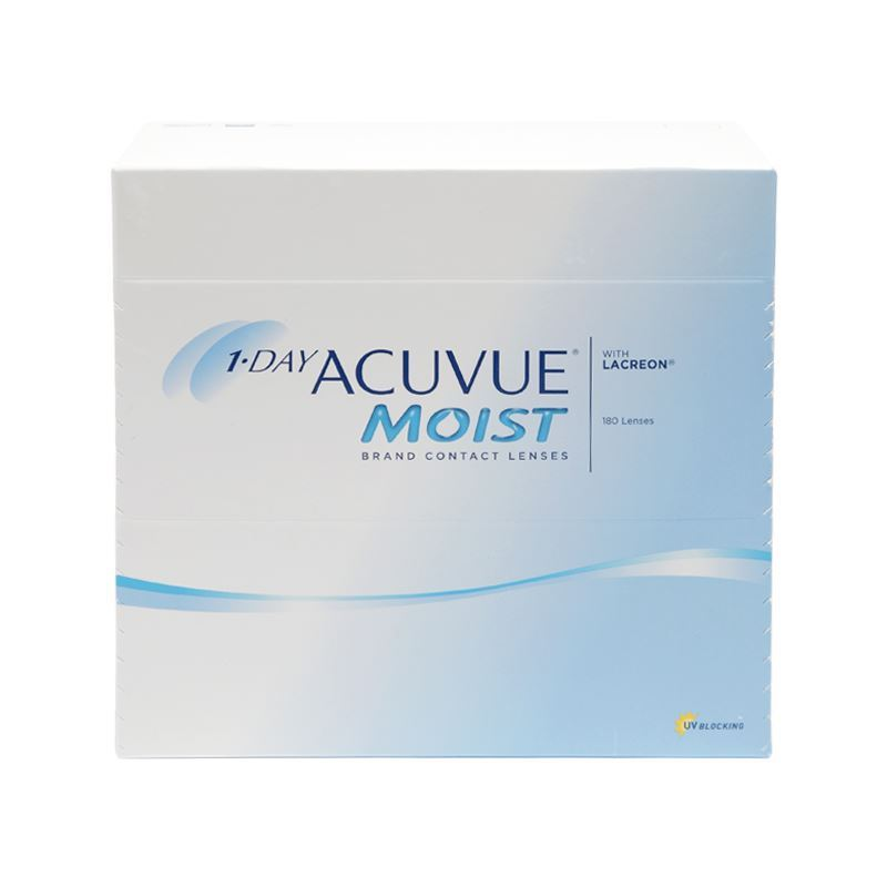 1-DAY ACUVUE MOIST with LACREON – 180