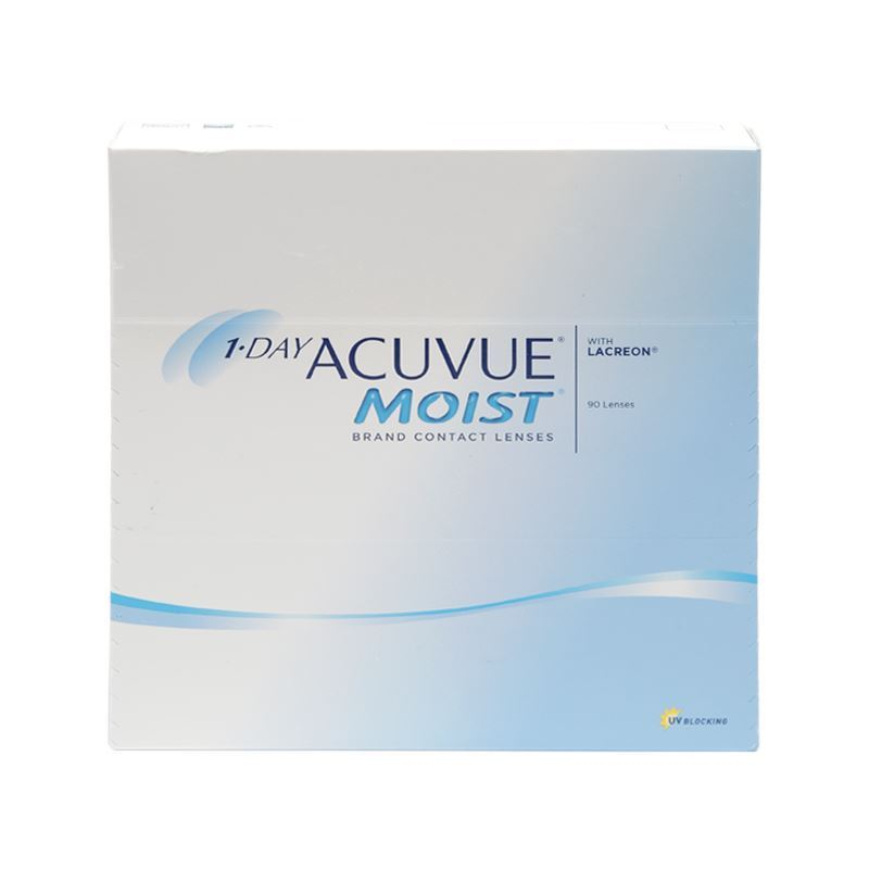 1-DAY ACUVUE MOIST with LACREON – 90