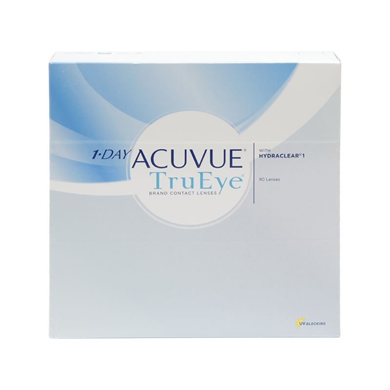 1-Day Acuvue TruEye with HYDRACLEAR® 1 – 90