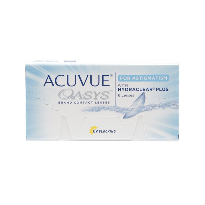 ACUVUE OASYS FOR ASTIGMATISM with HYDRACLEAR® Plus – 6