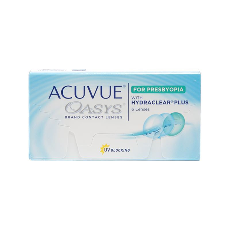 ACUVUE OASYS FOR PRESBYOPIA with HYDRACLEAR® PLUS – 6