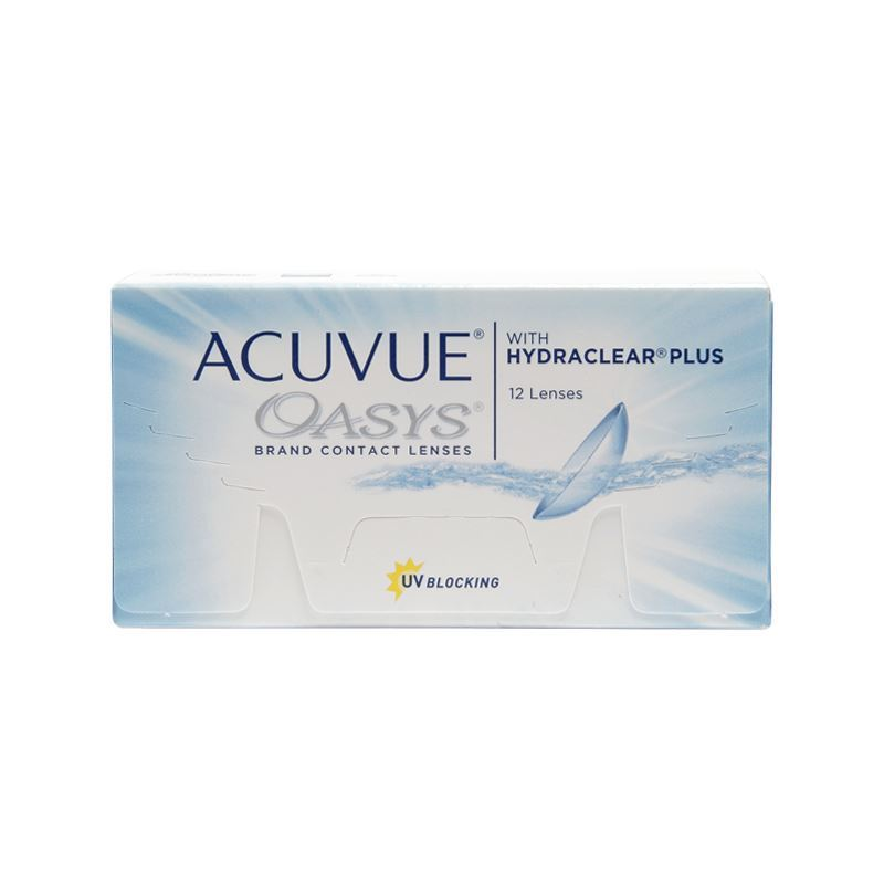 ACUVUE OASYS with HYDRACLEAR® Plus – 12
