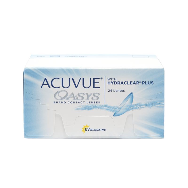 ACUVUE OASYS with HYDRACLEAR® Plus – 24
