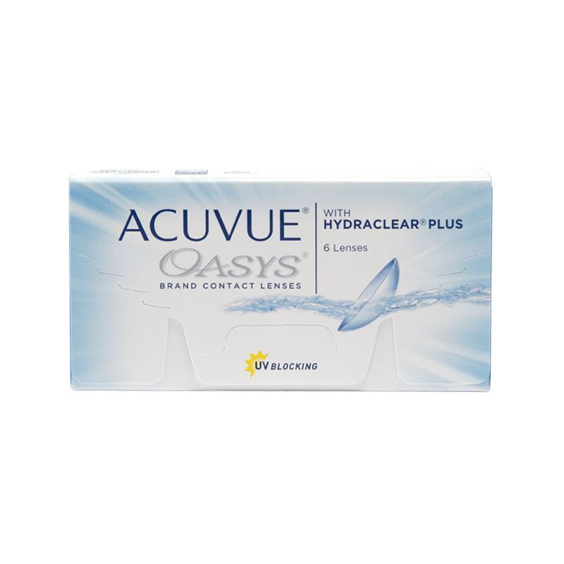 ACUVUE OASYS with HYDRACLEAR® Plus – 6