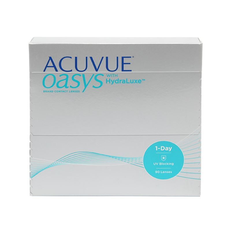 ACUVUE OASYS 1-DAY WITH HYDRALUXE – 90