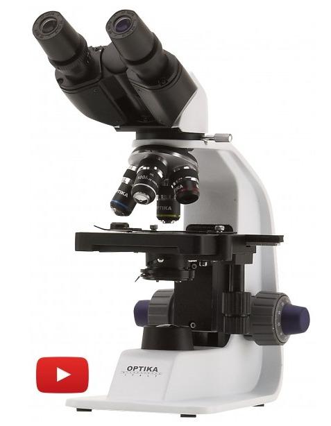 Microscopio biologico Binoculare