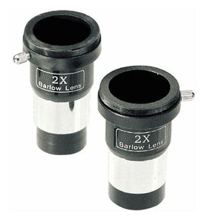 Lente di Barlow 2x economica a singola lente, diametro 31,8mm