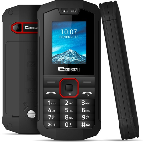 CROSSCALL SPIDER X1 BLACK 1.77″ IP67 DUAL SIM