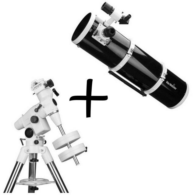 Riflettore Newton 200/1000+MONTATURA EQ5