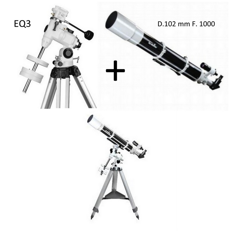 KIT SKYWATCHER 102mm f.1000 + EQ3