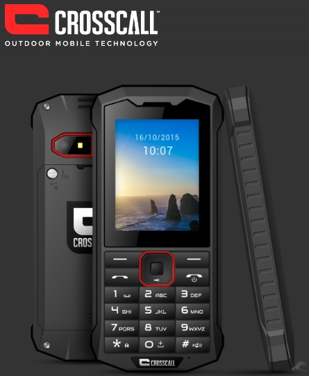 CROSSCALL SPIDER X4 BLACK 2.4″ IP68 3G DUAL SIM