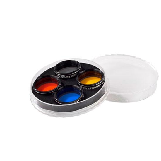 Set filtri colorati planetari per oculari 31,8mm