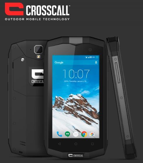 CROSSCALL TREKKER M1 BLACK 4.5″ 8GB/1GB IP67 LTE DUAL SIM