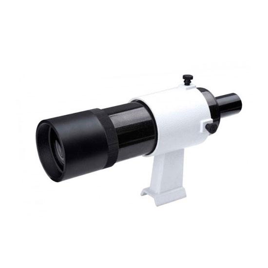 Cercatore 9×50 diag. 90° con sostegno e innesto a slitta