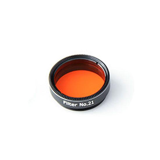 Filtro colorato diam. 31,8mm No. 21 (arancio)