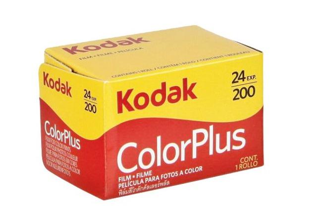 Kodak Color plus Rullino 200 135/24