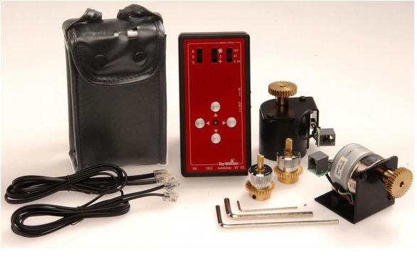 Kit motori + pulsantiera con porta autoguida per EQ5
