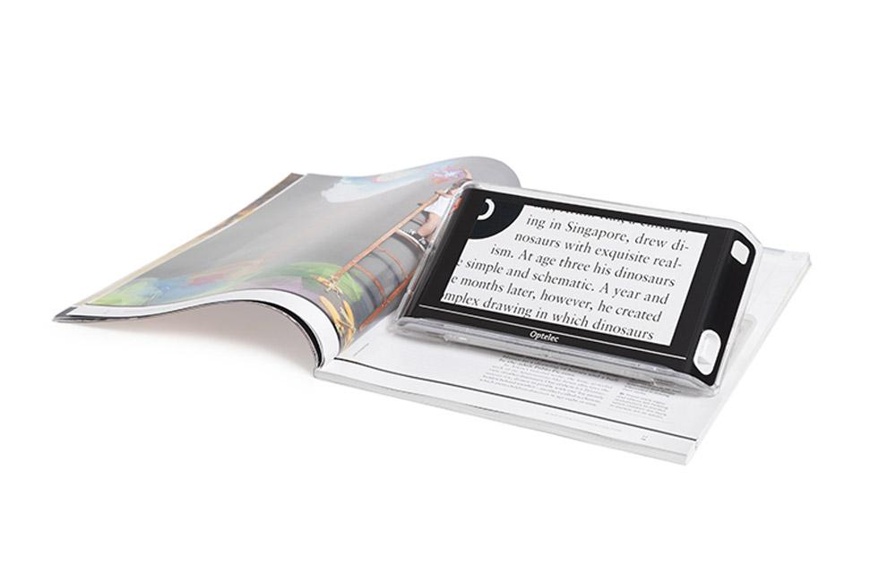 Optelec Compact 6 HD Speech – Videoingranditore portatile con lettore vocale