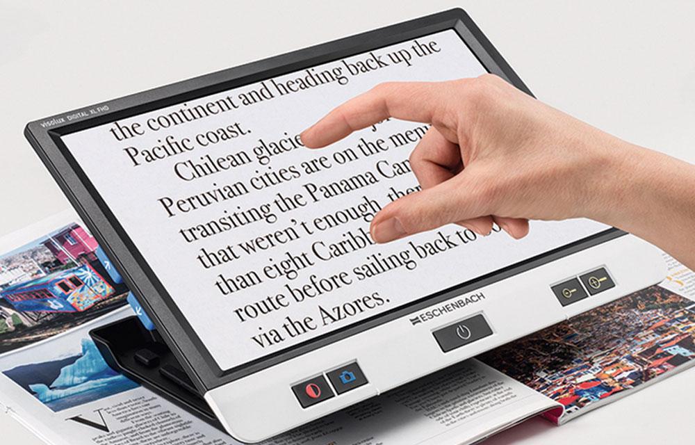 Eschenbach VISOLUX DIGITAL XL FHD – Videoingranditore portatile