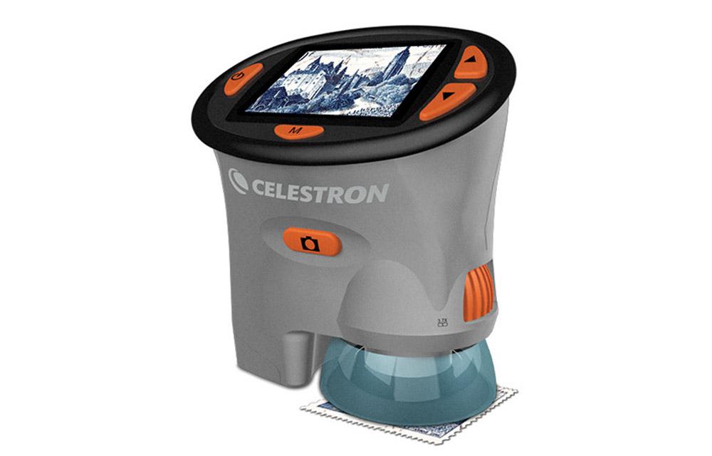 Microscopio digitale portatile HandHeld Celestron con schermo LCD