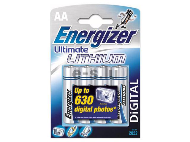 BATTERIE ENERGIZER® ULTIMATE LITIO – AA