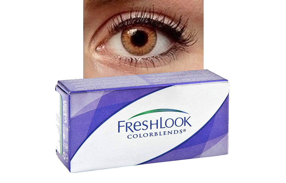 FRESHLOOK COLORBLENDS potere neutro • Miele