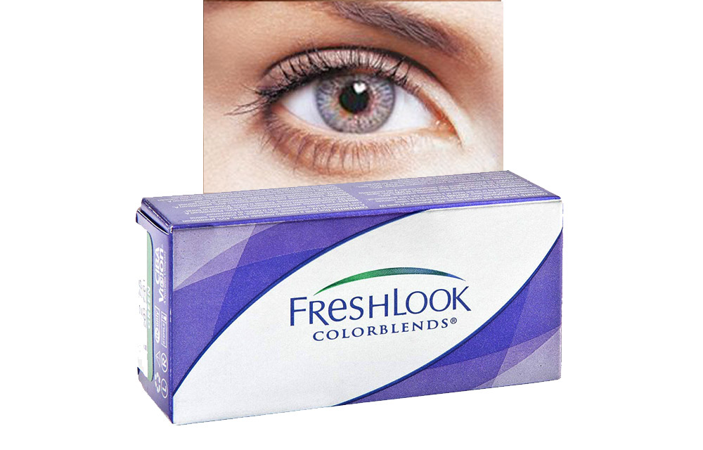 FRESHLOOK COLORBLENDS potere da 0.00 a -5.00 • Misty Grey