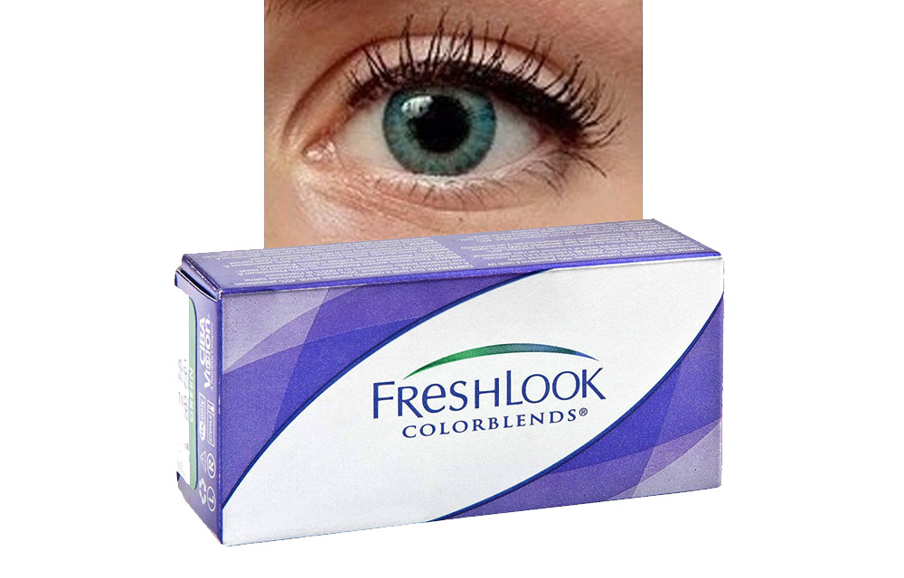 FRESHLOOK COLORBLENDS potere neutro • Turchese