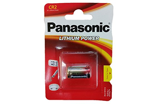 BATTERIA PANASONIC LITHIUM CR2