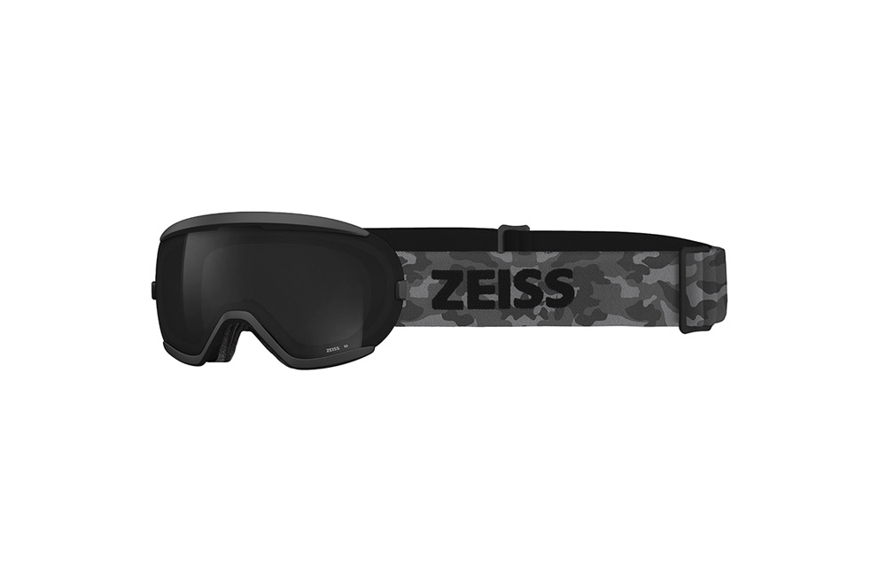 Maschera Sci Snowboard ZEISS – JUNIOR – Total Black