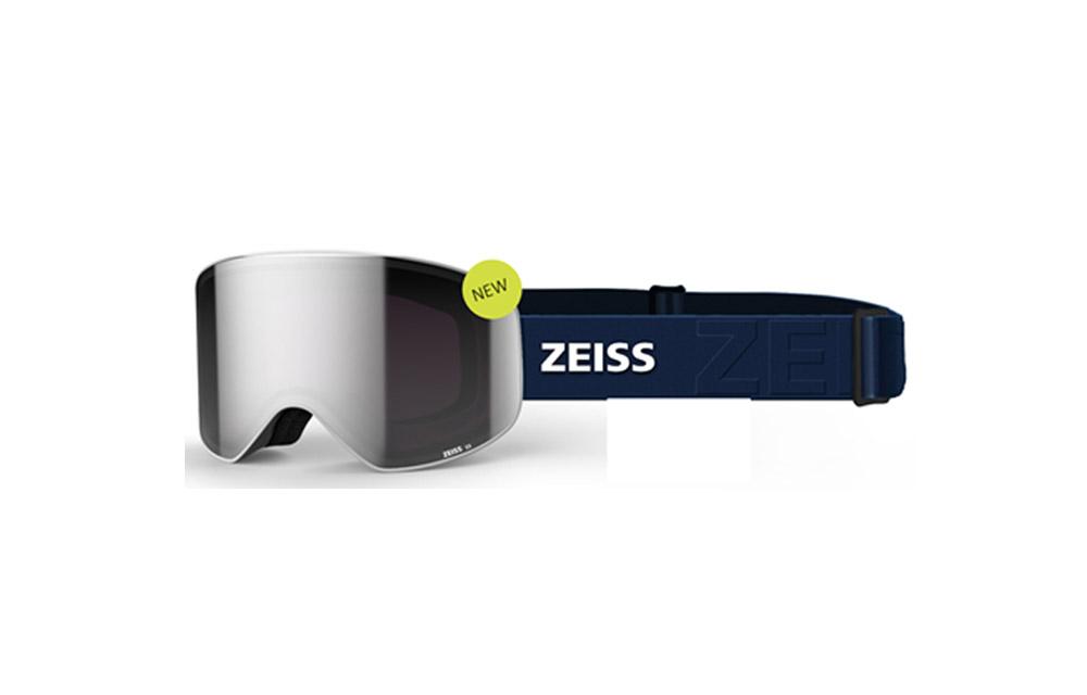 Maschera Sci Snowboard ZEISS – CYLINDRICAL – ML Extra White