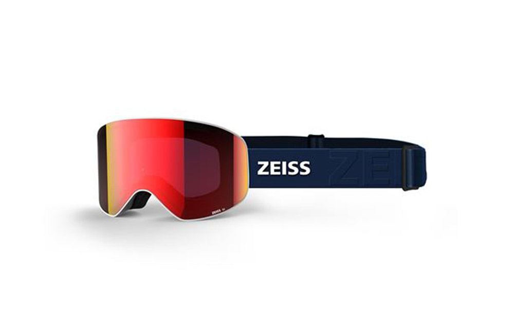 Maschera Sci Snowboard ZEISS – CYLINDRICAL – ML Red