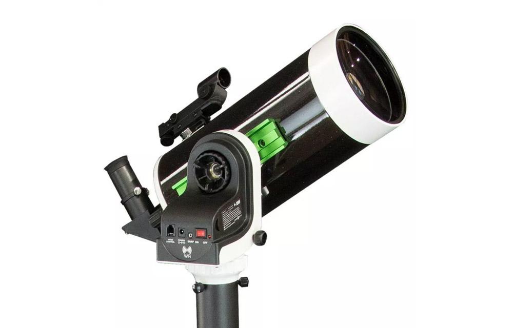 Telescopio Maksutov 127/1500 su montatura Wi-Fi AZ-GTi