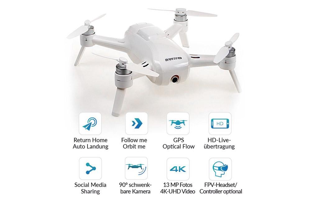 Drone YUNEEC DRONE BREEZE EU