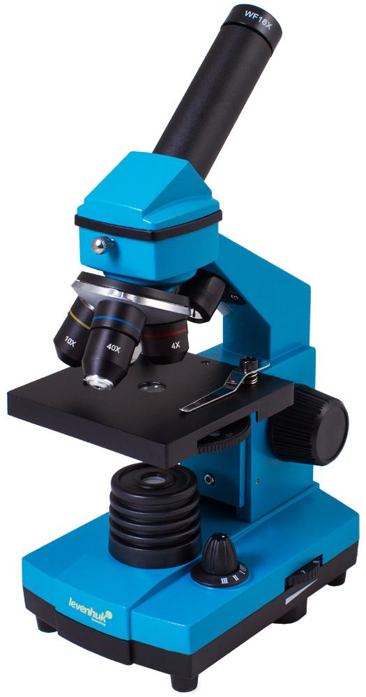 Microscopio Levenhuk Rainbow 2L PLUS, azzurro