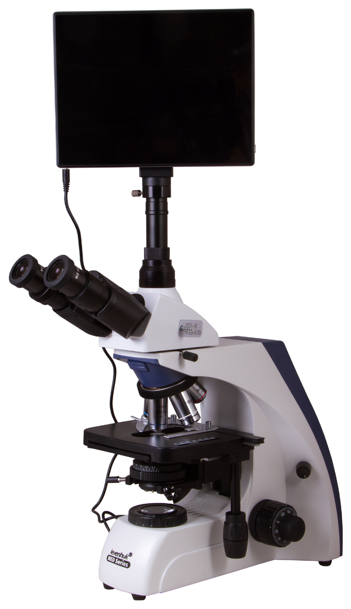 Microscopio trinoculare digitale Levenhuk MED D35T LCD