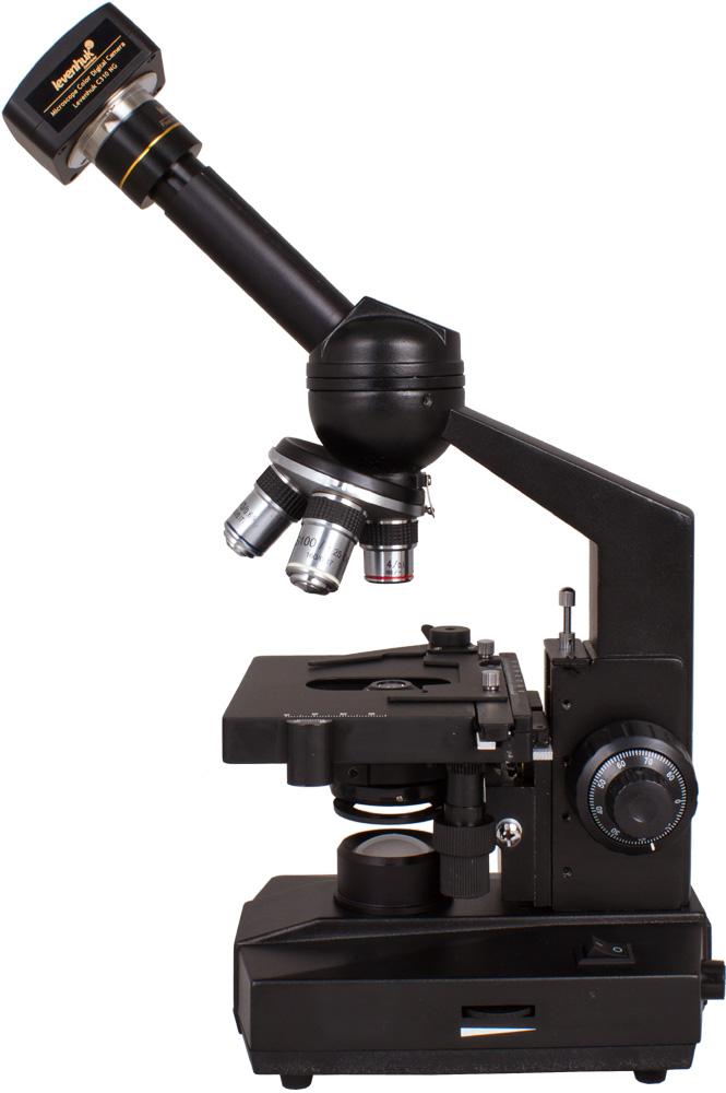 Microscopio monoculare digitale Levenhuk D320L 3.1M