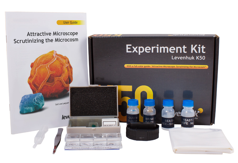 Kit per esperimenti Levenhuk K50