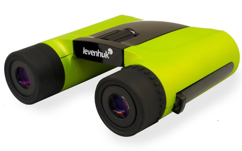 Binocolo Levenhuk Rainbow 8×25, verde limetta