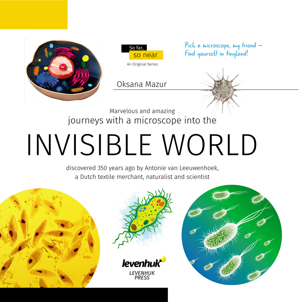 Invisible World (Mondo invisibile). Libro educativo
