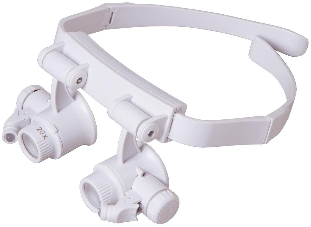 Occhiali d'ingrandimento Levenhuk Zeno Vizor G6