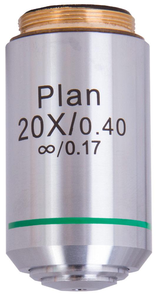 Obiettivo piano Levenhuk MED 1000 20x/0,40