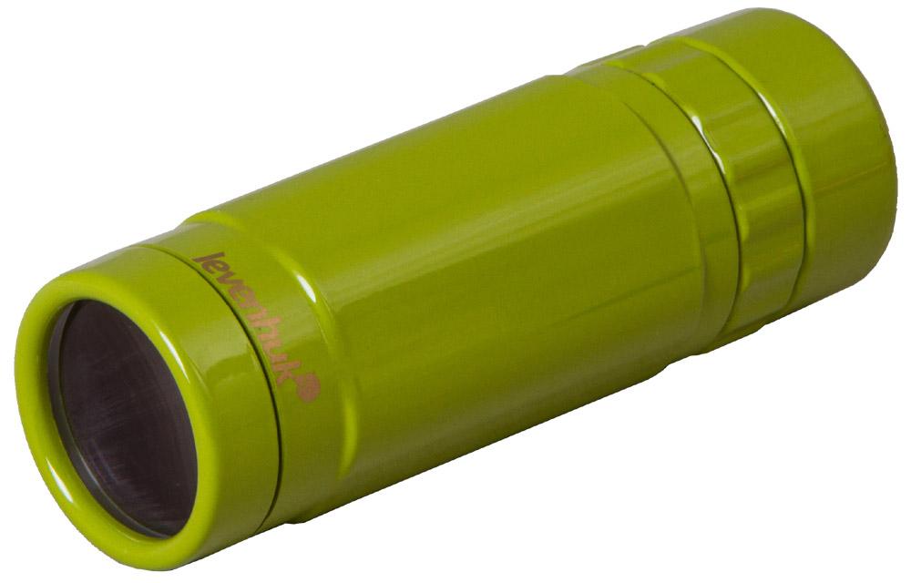 Monocolo Levenhuk Rainbow 8×25, verde limetta