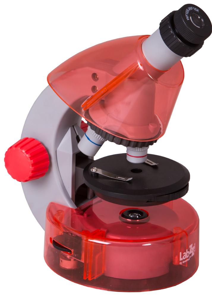 Microscopio Levenhuk LabZZ M101, arancio