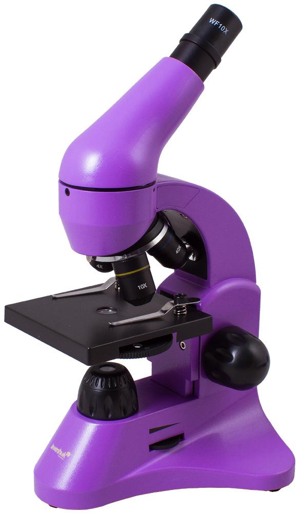 Microscopio Levenhuk Rainbow 50L, ametista